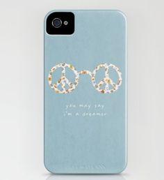 """John Lennon """"dreamer"""" iPhone case @society6"""
