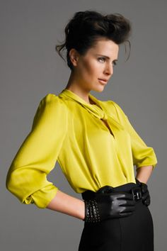 Yes to this yellow top