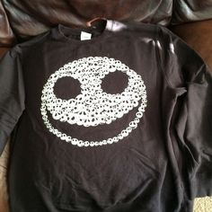 Pumpkin King Sweater Purchased at the Disney store. Used but still in good condition. Sweaters Crew & Scoop Necks