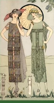 20s fashion illustration - Buscar con Google