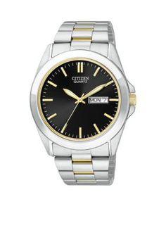 Citizen  Quartz Mens Two-Tone Watch