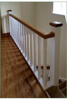 Timber Handrail, Shrewsbury Shropshire, Banisters, Staircases, White Oak, Glass Panels, Case Study, Stairs