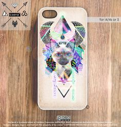 Cat iPhone 4 Case  Galaxy iPhone 4 Case  iPhone 5 by casesbycsera, $24.99