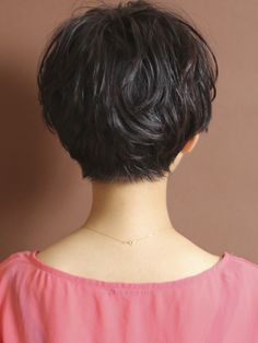 short hair back view love