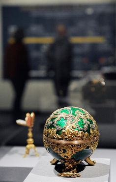 """The Fabergé Egg Now closely associated with the Russian Imperial family, the first-ever """"Imperial Easter egg"""" was dreamt up by Tsar Alexander III to surprise his wife, Empress Marie Fedorovna. Following the first bedazzled egg, the Tsar made it a tradition to present an egg each year to his wife. Fifty eggs were made for the imperial family between 1885 to 1916."""