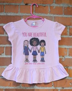 Image of You are Beautiful T-Shirt and Tutu Tee