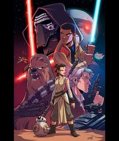 Star Wars VII by dereklaufman
