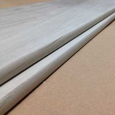 Wood Look Plank Tiles With Wood Look Glazing On The Bullnose Edge!