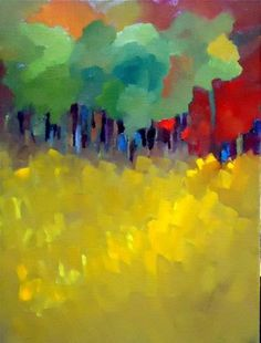 """Following Fall"" - Original Fine Art for Sale - © Laurie Mueller"