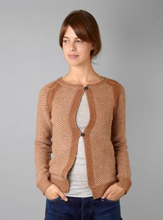 Couverture and The Garbstore - Womens - Humanoid - Tari Crew Neck Cardigan