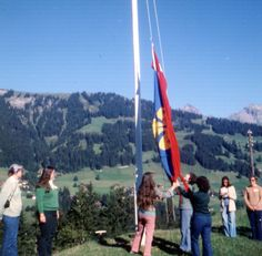 Adelboden, Switzerland. Our Chalet, Girl Scouts and Girl Guides