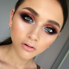 "3,365 Likes, 29 Comments - @tominamakeup on Instagram: ""Eyes so clear.. Такие чистые, как небо..…"""