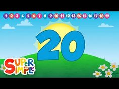 "We hope you enjoy this counting song! Practice counting to 20 with the updated HD version of our original marching song, ""Count And Move."" This song is a lot. Counting Songs, Math Songs, Counting To 20, Fun Songs, Preschool Songs, Kids Songs, Preschool Activities, April Preschool, Counting Activities"