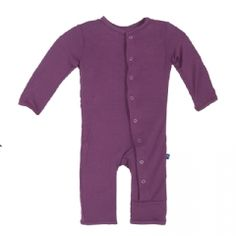 Solid Coverall in Amethyst