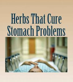 Herbs to Use to Herbal Cure Stomach Problems Naturally.