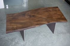 ••• Slab Coffee Table, Beautiful and Eco-Friendly!! $850