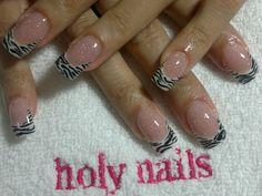 holy nails animal print