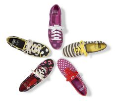 Apples, stripes & spots, oh my! The newest limited edition Keds X @Kat Ellis spade new york collection will have you feeling chic to the core