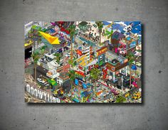 Pixel ART - eBoy - Los Angeles