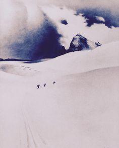 Franz Sedlacek Über den Hallstättergletscher, 1938 Öl auf unbekanntem Bildträger