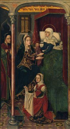 El nacimiento de san Juan Bautista - Colección - Museo Nacional del Prado