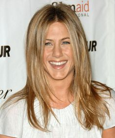 Jennifer-Aniston- honey blonde  hair