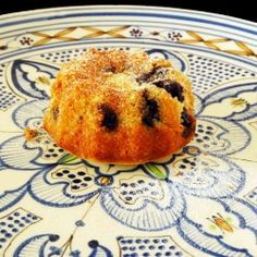 Blueberry Cinnamon Bundt Cake ]