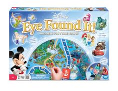 World of Disney Eye Found It Board Game $9.99