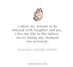 Just have fun! xxx #KORAOrganicsLifestyle #TreasureYourself #MotivationMonday