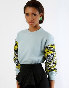 Its African inspired. ~Latest African Fashion, African Prints, African fashion styles, African clothing, Nigerian style, Ghanaian fashion, African women dresses, African Bags, African shoes, Nigerian fashion, Ankara, Kitenge, Aso okè, Kenté, brocade. ~DKK
