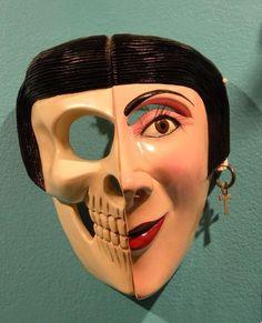 Mask from Oaxaca, Mexico