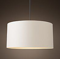 RH's Cicero Round Shade Pendant:Simple. Elegant. Versatile. While the design of our Cicero Round Shade Pendant has origins in 1940s France, the form has been revisited by each succeeding decade, becoming an iconic staple of Modernism. Its linen shade features a contrasting gold interior for a warm glow and a subtle touch of luxury.