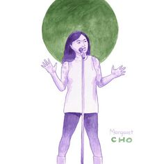 Investigate.Conversate. Illustrate  Margaret Cho-Kindred Journey, AAPI, Apahm, Asian American, Korean American