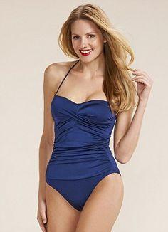 Navy swimming costume, £15, Tu at Sainsbury's as before
