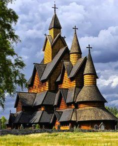 Amazing Heddal Stave Church – Norway