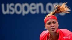 US Open - Petra Kvitova to meet American Alison Riske in the third round