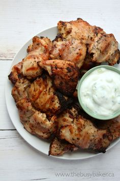 The Busy Baker: Grilled Chicken Souvlaki