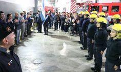 Jaime Méndez participó del 72° aniversario de los bomberos voluntarios de San Miguel