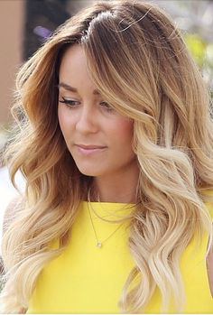 Lauren Conrad's hair. If I Ever dye my hair, I would go for this first.