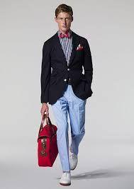 I need light blue trousers! Blue Trousers, Blue Pants, Color Pants, Jeremy Hackett, Blue Fashion, Mens Fashion, Ivy Style, Men's Style, Professional Wear