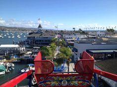 Balboa Fun Zone on Ferris Wheel! Orange County California, Southern California, Newport Beach, Back In The Day, Good Old, Ferris Wheel, Childhood Memories, Oc, Spaces