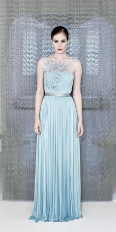 OHIO DRESS | Catherine Deane - embroidered, beaded SILK tulle