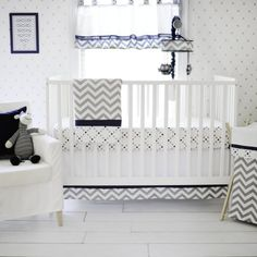 My Baby Sam Out of the Blue Baby Bedding Collection