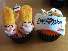 Hilarious Jedward cupcakes