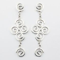DESIGNER HANDCRAFTED EARRINGS on 925 STERLING SILVER NOW $39.95aus .....................With FREE SHIPPING AUSTRALIA WIDE.. SAVE THIS PIN OR BUY NOW FROM LINK HERE  http://www.ebay.com.au/itm/-/182449159886?ssPageName=ADME:L:LCA:AU:1123