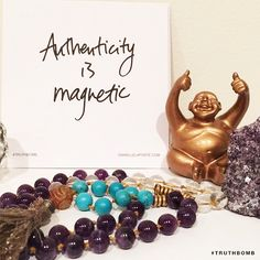 Authenticity is magnetic #Truthbomb elaborations