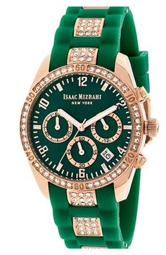Emerald green & rose gold - such a pretty combo for this watch - http://rstyle.me/n/djrm9nyg6