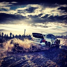 Rally car experience.... Brrrummm!