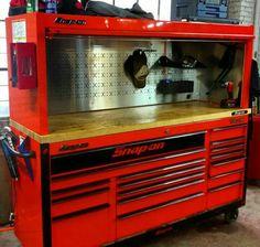 Garage Tools, Car Tools, Garage Shop, Garage Workshop Organization, Garage Storage, Tool Storage, Metal Bins, Mobile Workshop, Tool Cart
