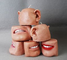 Bodily Candles Are 'Melt in the Mouth' Freaky -  #bodyart #candles #creepy #decor